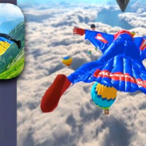 Base Jump Wing Suit Flying - Gameplay Part 1 - All Levels (iOS, Android)