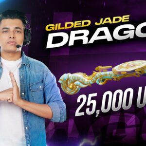 DP-28 JADE DRAGON MAXED OUT?! | 25000 UC OPENING | BGMI