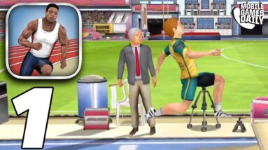 Athletics 3: Summer Sports - All Events and Competitions Gameplay (iOS, Android)