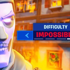 """fortnite on """"IMPOSSIBLE MODE"""""""
