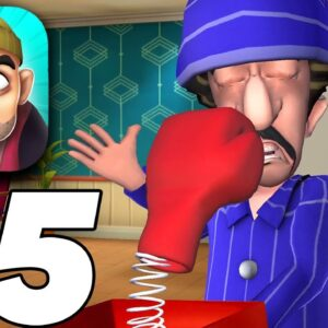 SCARY ROBBER HOME CLASH Gameplay Walkthrough Part 15 Don't Gift Up Level (iOS, Android)