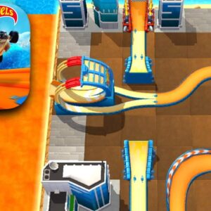 HOT WHEELS UNLIMITED All Custom Tracks Gameplay (iOS, Android)