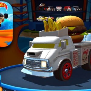 HOT WHEELS UNLIMITED Buns of Steel Car Unlocked Gameplay (iOS, Android)