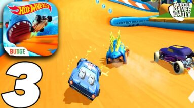 HOT WHEELS UNLIMITED Community Track Gameplay #3 (iOS, Android)