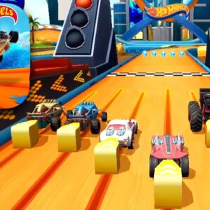 HOT WHEELS UNLIMITED February Update Gameplay (iOS, Android)