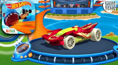HOT WHEELS UNLIMITED RED RD-02 GAMEPLAY (iOS, Android)