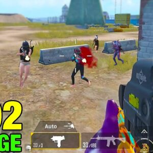 MY NEW RUSH GAMEPLAY IN MILITARY BASE | PUBG MOBILE