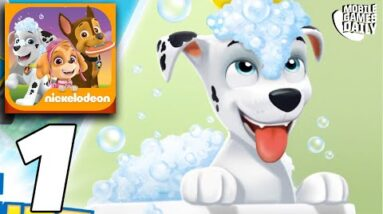 PAW PATROL A Day in Adventure Bay Episode 1 Gameplay (iOS, Android)