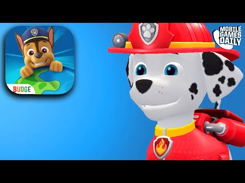 PAW PATROL RESCUE WORLD - Fireman Marshall saves the day!