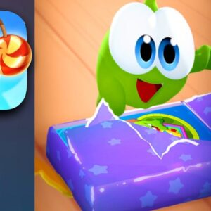 CUT THE ROPE REMASTERED Gameplay Walkthrough Part 1 - Book 1 Levels (Apple Arcade)