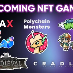 10 MORE NFT Games To Watch Out For | Upcoming play-to-earn games