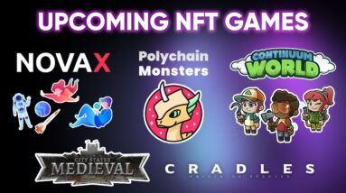 10 MORE NFT Games To Watch Out For   Upcoming play-to-earn games