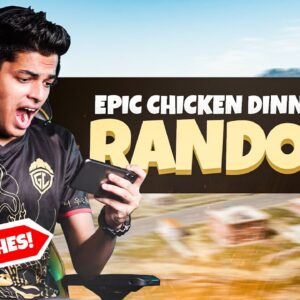 19 FINISHES WITH CHICKEN DINNER | RANDOMS GAMEPLAY | BGMI