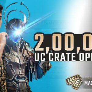 2,00,000.00 UC CRATE OPENING! | JONATHAN IS BACK! | BGMI | !insta