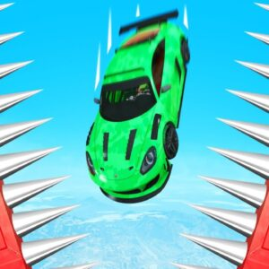 99% IMPOSSIBLE DROPPER PARKOUR RACE! (GTA 5 Funny Moments)