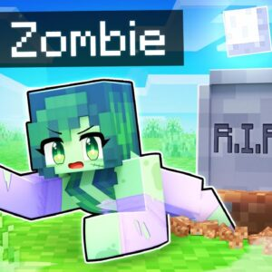 Aphmau DIED and became a ZOMBIE In Minecraft!