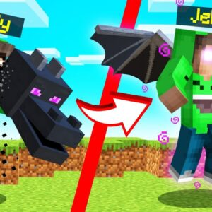 EATING MOBS In MINECRAFT! (Get SUPERPOWERS)