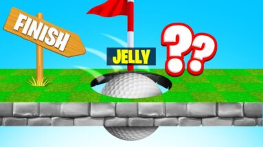 GOLF IT But It's IMPOSSIBLE TO SCORE! (Troll Map)