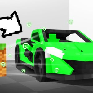 I Turned A Minecraft Block Into A Supercar...