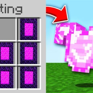 Minecraft, But There Are Custom Portal Items...