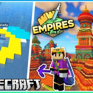 More Base Progress & I'm Engaged?! | Empires SMP | Ep.13 (1.17 Survival)