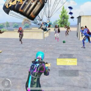 Omg!! ALL ENEMIES LANDED on FRON of ME😨Pubg Mobile