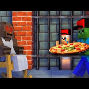 Monster School : PIZZA FOR GRANNY COOKING CHALLENGE NEW EPISODE - Minecraft Animation