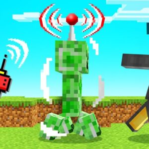 REMOTE CONTROLLING MOBS In MINECRAFT! (Troll)