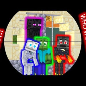 Monster School : Poor and Rich - Baby Skeleton and Zombie Life - Minecraft Animation