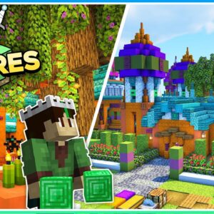 The House of Knowledge! | Empires SMP | Ep.8 (1.17 Survival)