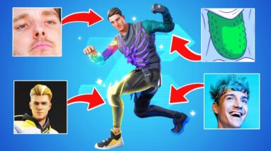 the ultimate youtuber skin challenge