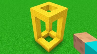 These Minecraft Illusions will Fry your Brain!