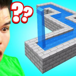 This Minecraft Optical Illusion Will HURT Your Brain...
