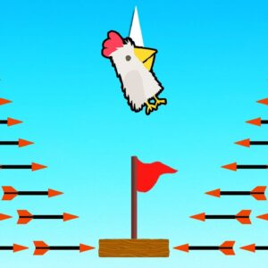 Ultimate Chicken Horse BUT The Arrows Are IMPOSSIBLE To DODGE!