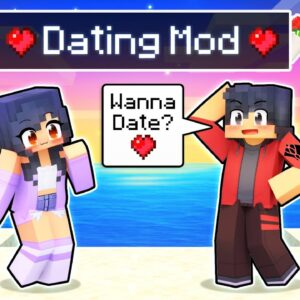 Using The DATING MOD In Minecraft!