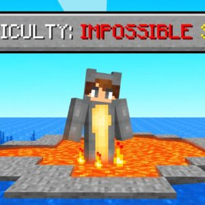 We attempted the most Impossible Seed in Minecraft!
