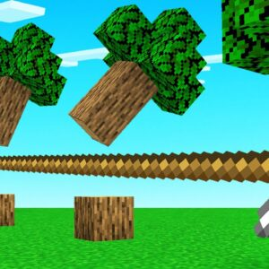 We Crafted MEGA LONG TOOLS In Minecraft!