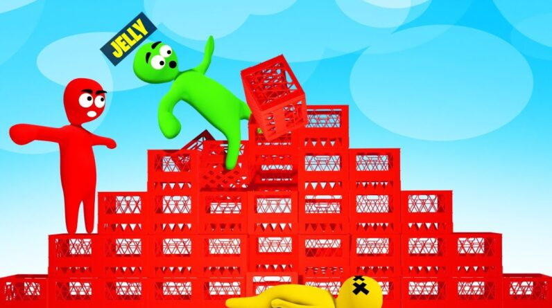 We Tried The Crate Challenge In A Video Game…