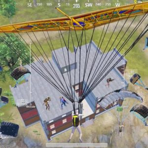 Wow!! ALL INSANE PLAYER LANDED in HERE😱Pubg Mobile