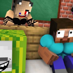 Monster School : BABY MONSTERS GIRLS vs BOYS HIDE AND SEEK CHALLENGE ALL EPISODE Minecraft Animation