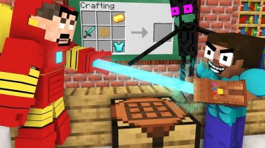 Monster School : BABY MONSTERS CRAFTING CHALLENGE ALL EPISODE - Minecraft Animation
