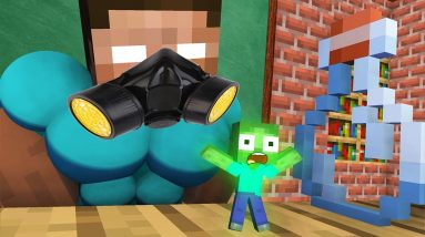 Monster School : BABY MONSTERS TINY CHALLENGE ALL EPISODE - Minecraft Animation