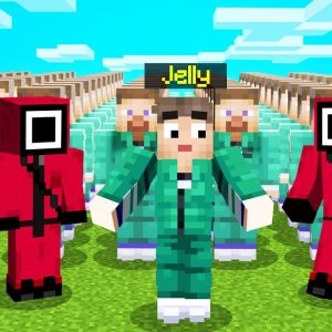 Jelly plays Squid Game in Minecraft!