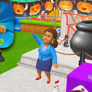 PAW PATROL RESCUE WORLD - All New Halloween Update Gameplay