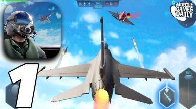Sky Warriors: Airplane Combat - Gameplay Trailer (iOS, Android)