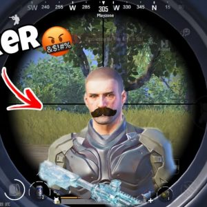 THIS VICTOR ENEMY HACKER or NOT?🤬Pubg Mobile
