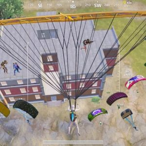 Wow!! EVERYONE LANDED on APARTMENTS😱Pubg Mobile